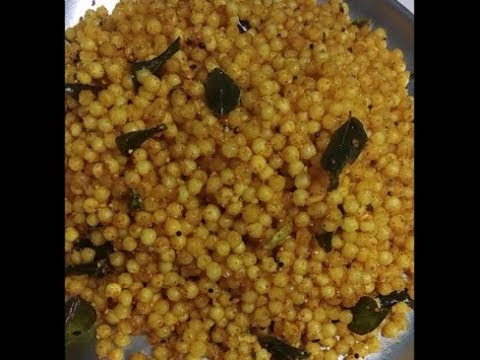 Fasting Special Sabudana (Sago) Khichdi without Potato - Meenakshi's Vegetarian Kitchen
