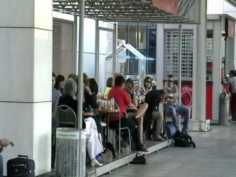 Athens Airport, Greece,  Departures Area