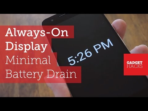 Get the Galaxy S7's 'Always On Display' Feature on Other Devices [How-To]
