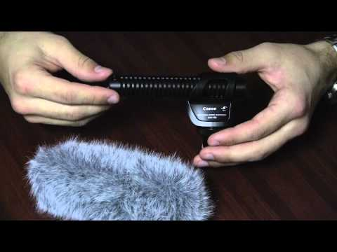 Review: Canon DM-100 Directional Stereo Microphone