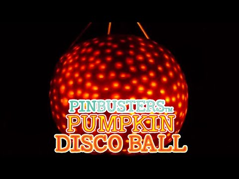 DIY Halloween Pumpkin Disco Ball // DOES THIS REALLY WORK?