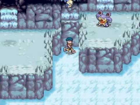 Let's Play Pokémon Ranger part 21 - Regice, Ice, Baby