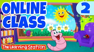 Online / Virtual Class Learning #2 ♫ Brain Breaks for Kids ♫ Kids Songs by The Learning Station