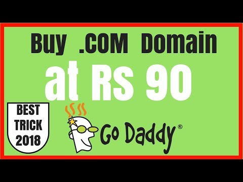 Buy Cheap Domain at Rs90 (FAST!) | Best Trick 2018 on the Internet With Coupon Code