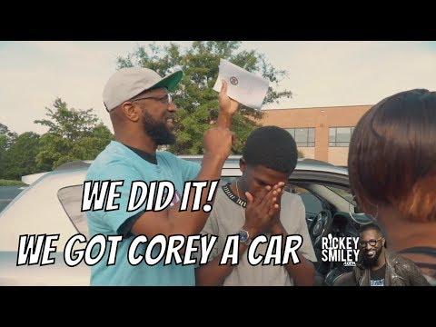 Corey Patrick Gets His Brand New Car!