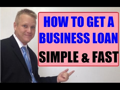How To Get A Business Loan - Secret Revealed Simple Fast Method