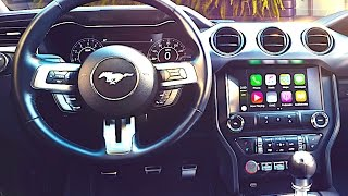 New Ford Mustang INTERIOR 2018 Video Ford Mustang Driving Engine Sound 2017 Mustang Review CARJAM