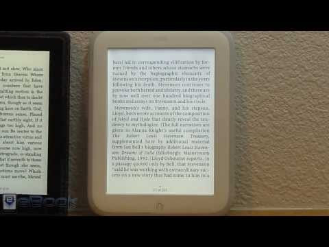 Nook GlowLight Review and Screen Comparisons