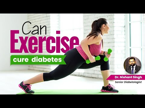 Exercise in Diabetic Person - Dr. Nishant Singh, MD - General Medicine