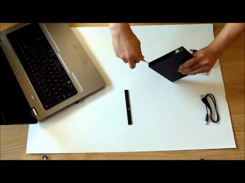 How to use your DVD-drive as external USB DVD-drive with a USB DVD enclosure case