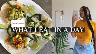 Purple Carrot Review + Vegan What I eat In a Day