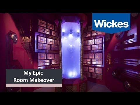 My Epic Room Makeover - Ep4 - Big Bollywood Space Party