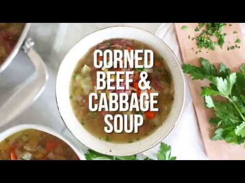 Corned Beef and Cabbage Soup