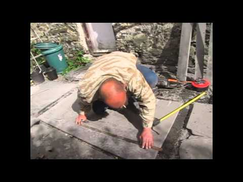Cut a slate hearth for a fireplace - Argos Xtreme Challenge 9