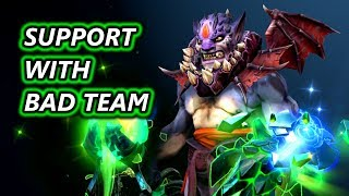 How To Play Support With A Bad Team - Replay Analysis