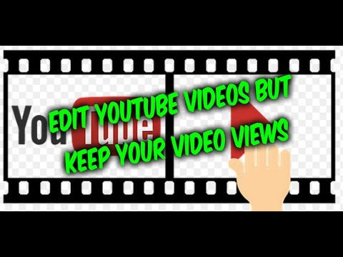 How to trim edit uploaded Youtube videos and keep your views !!!