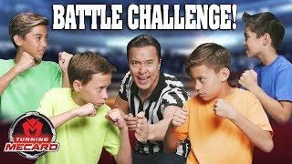 TURNING MECARD BATTLE CHALLENGE!!!