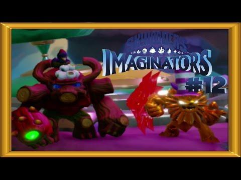 Skylanders Imaginators Walkthrough 100% -  Expert Mode |  ALL COLLECTIBLES  | 2 Player - Part 12