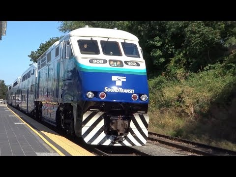 Sound Transit Sounder South Line Train #1516 (Tacoma Dome-Tukwila)