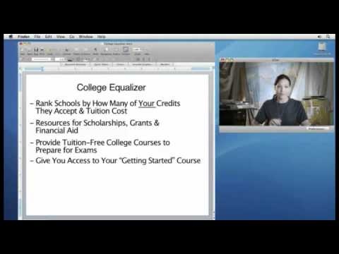 Episode 8 -  College Equalizer Helps You Choose the Best Online Degree