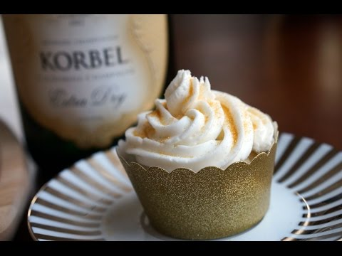 How to Make Champagne Cupcakes and Icing