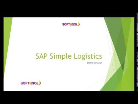 SAP S4 HANA Simple Logistics Online Training | SAP Simple Logistics Training | SAP S4 HANA Logistics
