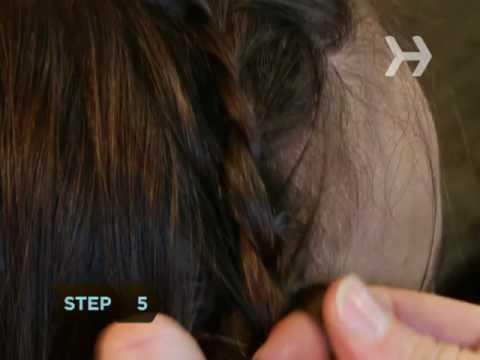 How to Do a Headband Braid