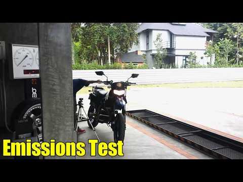 Emissions Test...