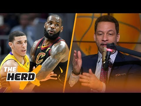 Chris Broussard believes the Lakers should trade Lonzo Ball to get LeBron James   THE HERD