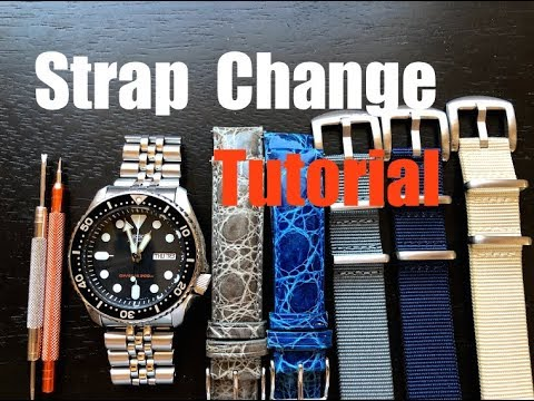 How To Change A Watch Strap - Watch Strap Change TUTORIAL