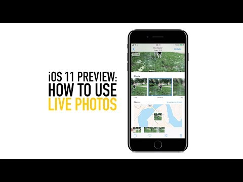How to use Live photos in iOS 11 - Key Photo & Bounce Effect on Apple iPhone