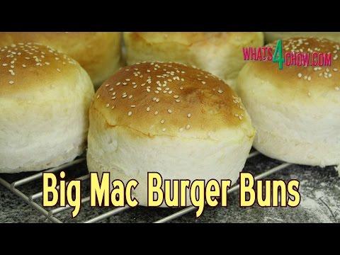 Classic Big Mac Burger Buns Recipe - How to Make McDonald's Burger Buns at Home - Quick and Easy!!!