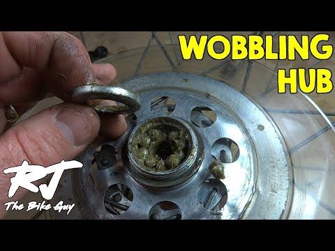Fixing A Wobbling Rear Wheel Hub