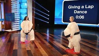Ellen and Demi Lovato Play Su