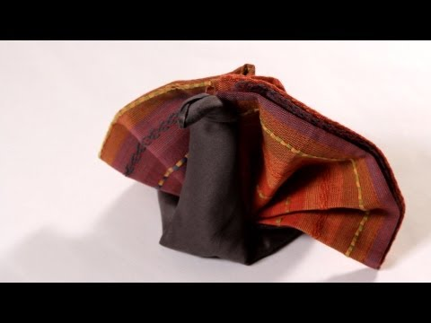 How to Fold a Napkin into a Turkey | Napkin Folding