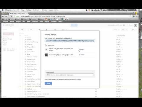 Publishing a PDF to the web via Google Drive