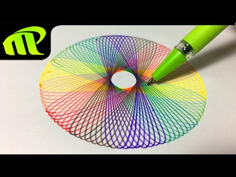 Spirograph Art Designs - By Mahesh Pendam