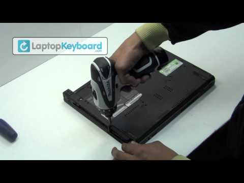 IBM LENOVO T60 T61 Keyboard Installation Replacement Guide - Remove Replace Install R60 Z60