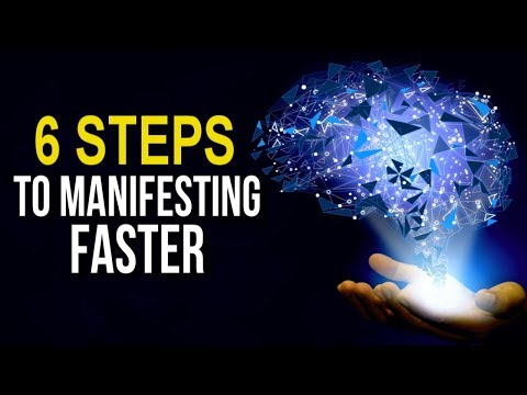 Turn Your Brain Into a CREATION MACHINE! 6 Steps to MANIFEST MORE of What You WANT (Powerful!)