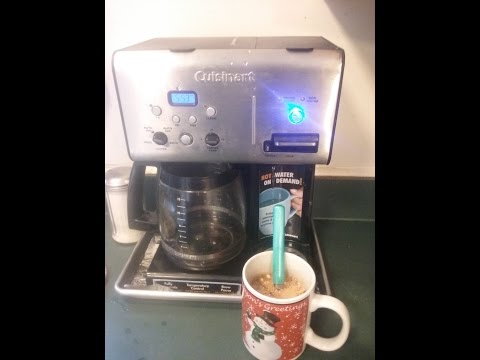 Cuisinart Coffee PLUS 12 Cup Programmable Coffeemaker & Hot Water Video Review