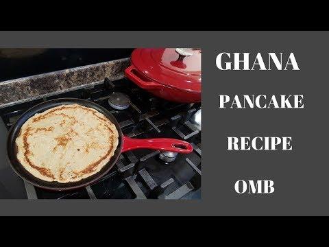 HOW TO PREPARE PANCAKE - GHANA STYLE
