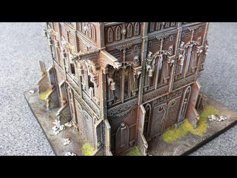 Warhammer 40k tutorial  How to make Ruins