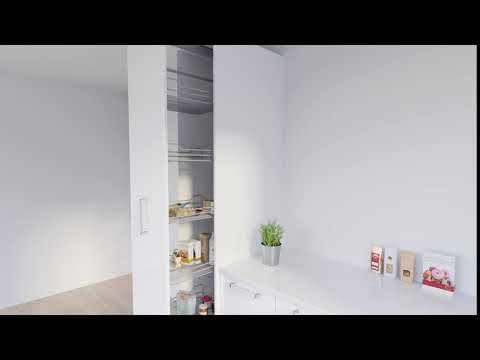 400 pull out pantry