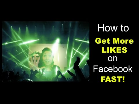 how to get more likes on Facebook - FAST