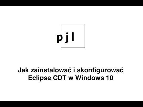 Konfiguracja eclipse CDT dla Windows 10