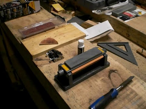 My new chisel sharpening system