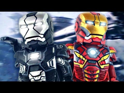 LEGO Age of Ultron : War Machine Mark II & Iron Man Mark 45  - Showcase