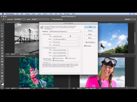 Color settings in Photoshop CC