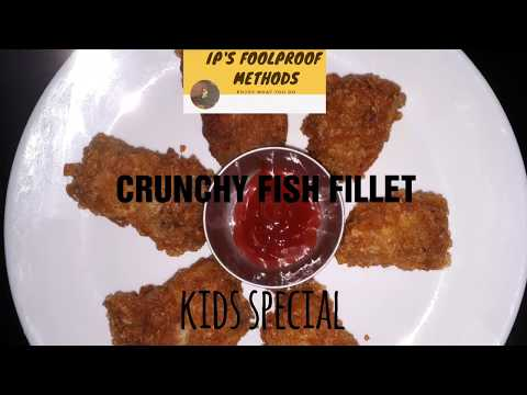 Crispy Fried Fish | Crunchy Coating | Fish Fillet Recipe