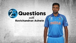 25 Questions with Ravichandran Ashwin - 'Dhoni is the smartest cricket brain I know'